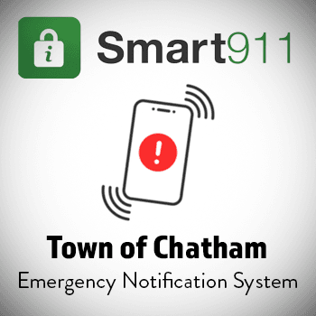 Smart911 Town of Chatham Emergency Notification Logo